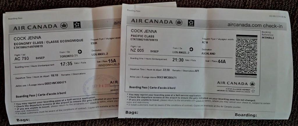 Goodbye Canada, Hello New Zealand!
