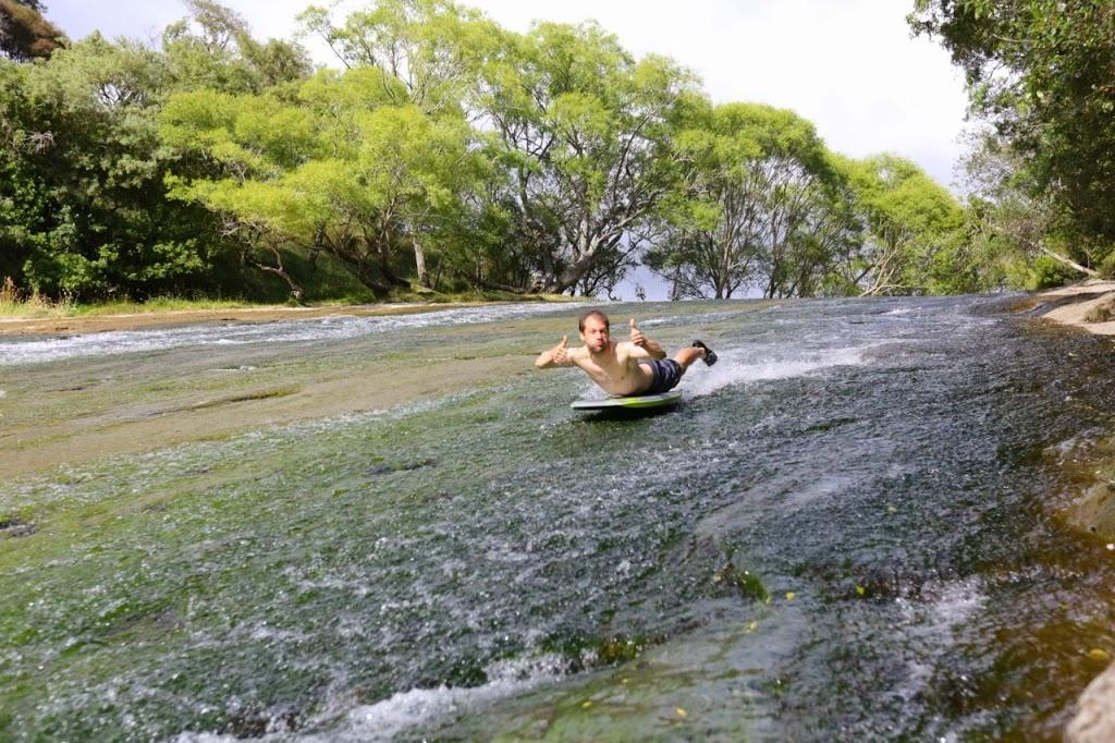 Nature's Slip & Slide (Rere Rockslide)