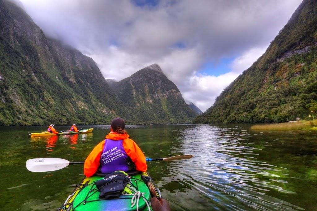 Kayaking Doubtful Sound
