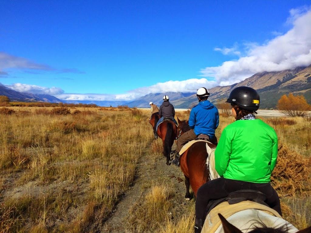 Horseback ride through Glenorchy