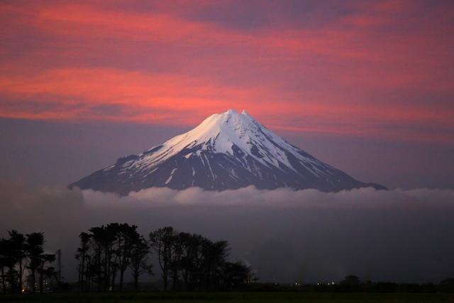 Climbing a snow capped Mount Taranaki - Stoked for ...