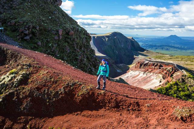Mt Tarawera Volcanic Crater Hike