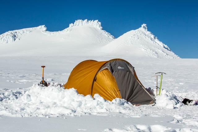 snow camping mt ruapehu