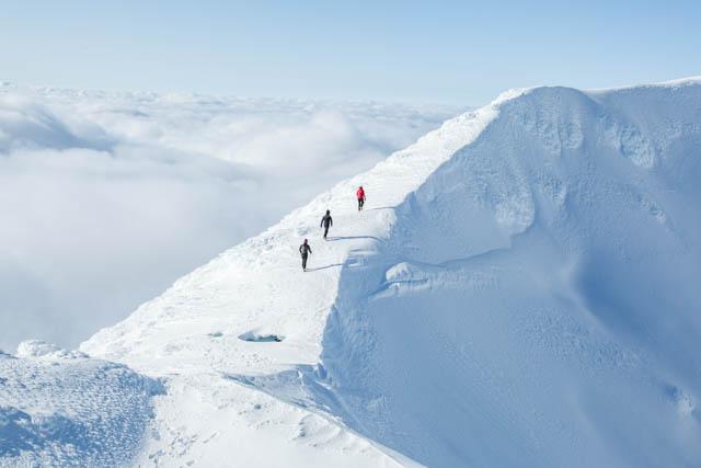 Mt Ngauruhoe summit crater