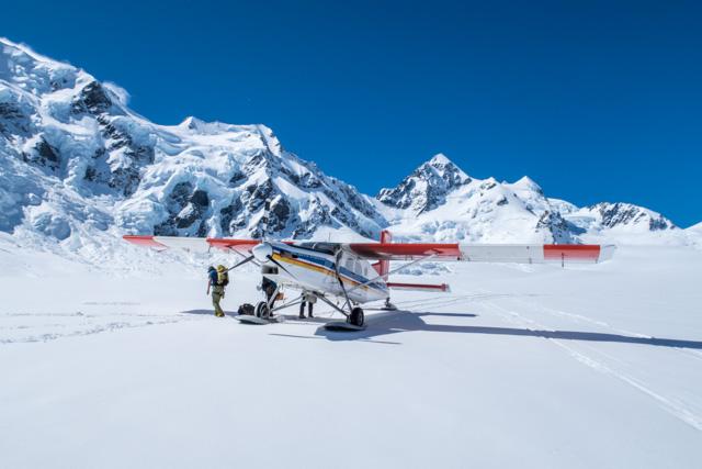 Mt Cook Sli Plane